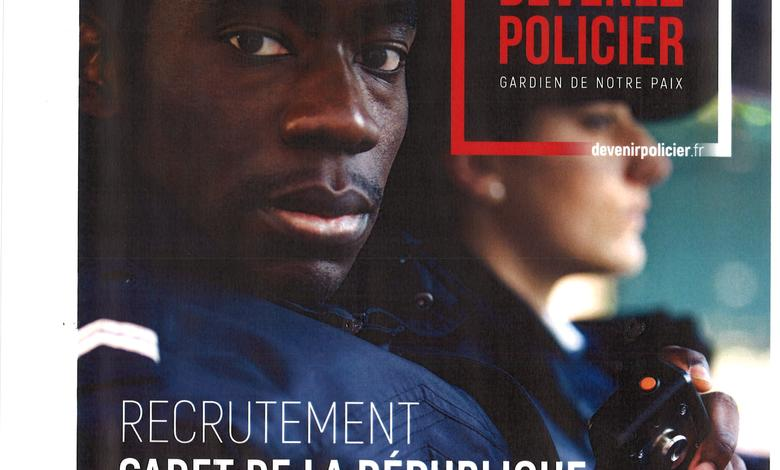 RECRUTEMENT CADETS DE LA REPUBLIQUE
